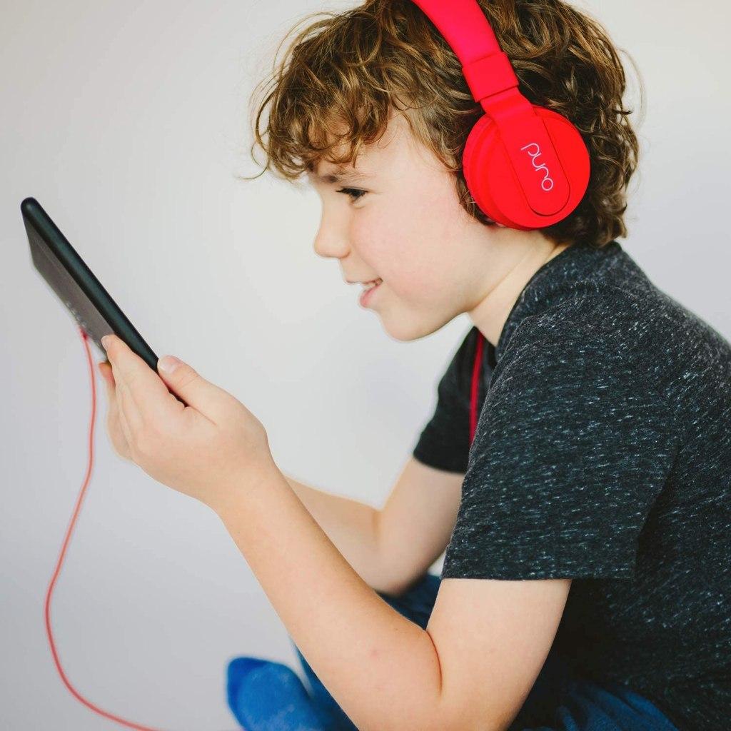 PuroBasic Volume Limiting Kids Headphones: