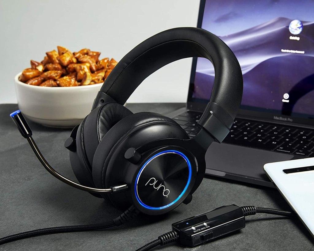 PuroGamer Volume Limited Gaming Kids Headphones